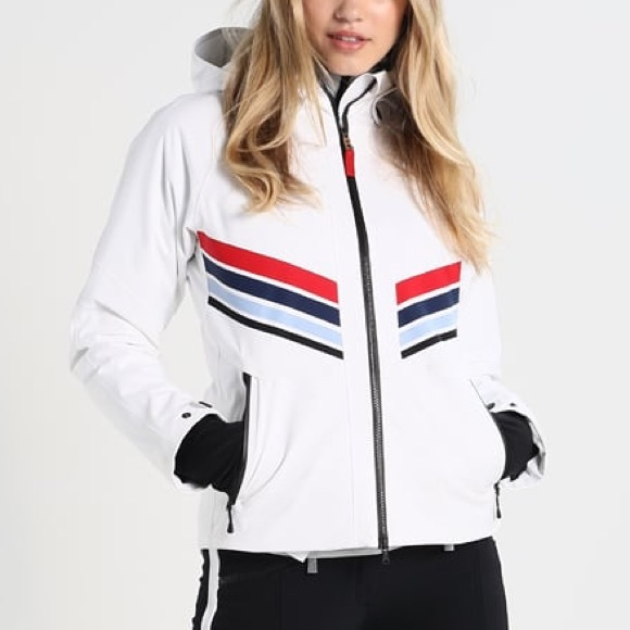 footwear san francisco brand new Bogner Fire + Ice Macie Jacket in White